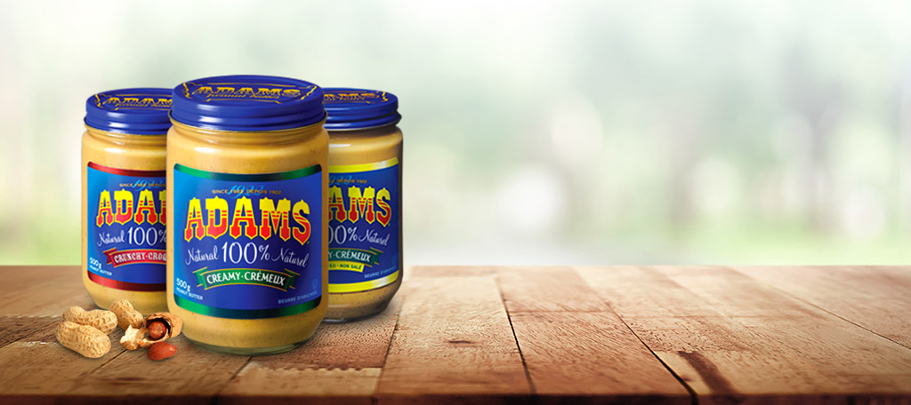 Adams® Natural Peanut Butter